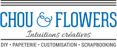 logo chou & flowers