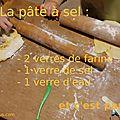 Recette de la pâte à sel : ou comment occuper les enfants quand il pleut