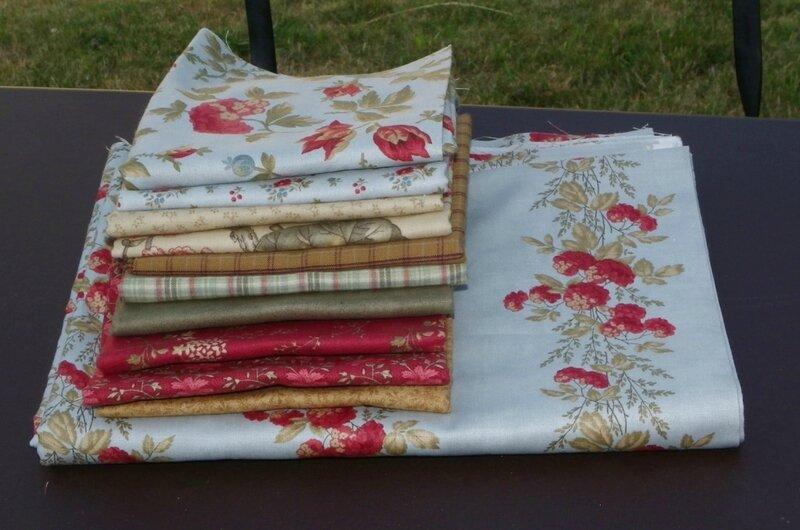 tissus rag quilt