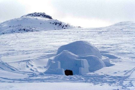 igloo, la yourte de glace