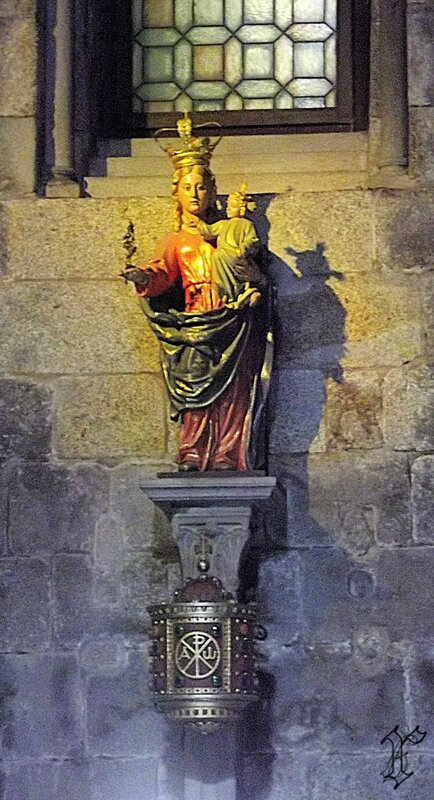 église de la Corticela_vierge à l'enfant