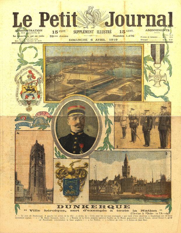 Le Petit Journal Supplément 6 avril 1919