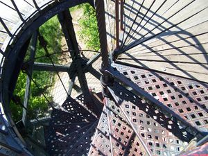 Arcachon_observatoire_Ste_C_cile_escalier