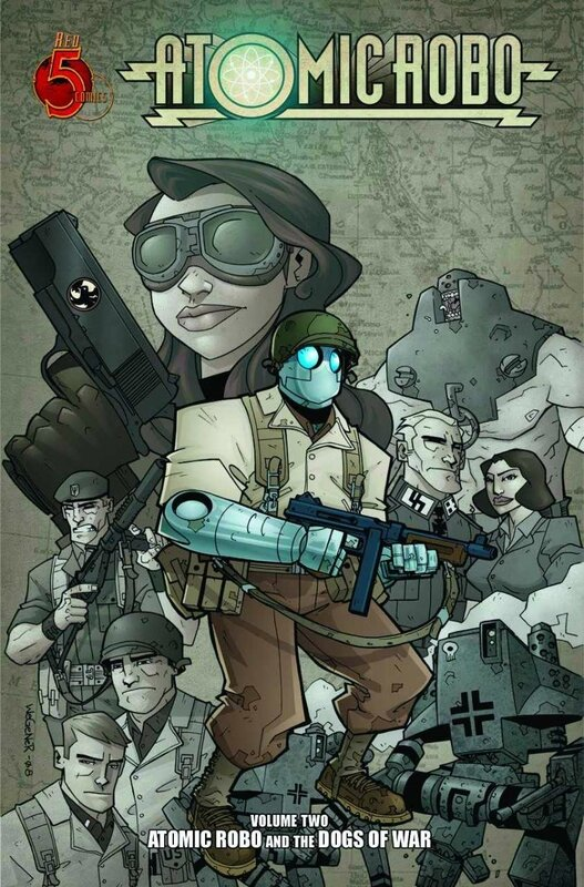 red 5 atomic robo vol 02 the dogs of war TP
