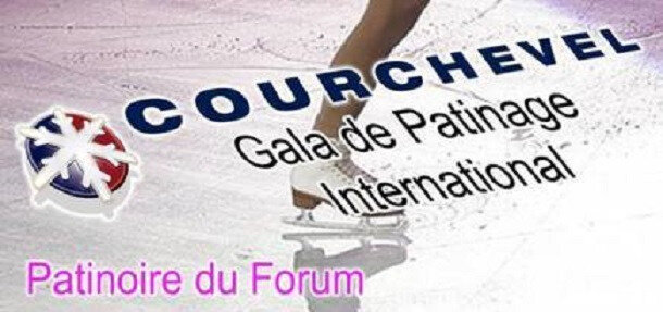 Affiche Courchevel Patinoire R