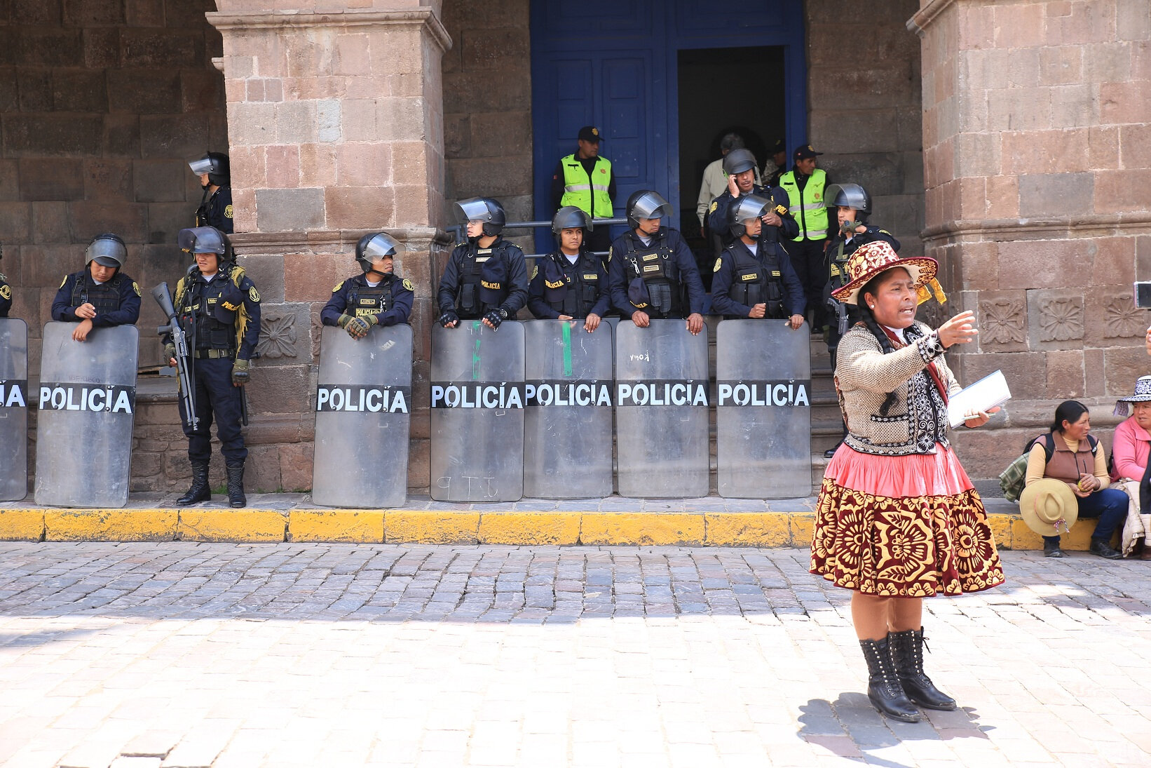Cusco, le choc de civilisations.