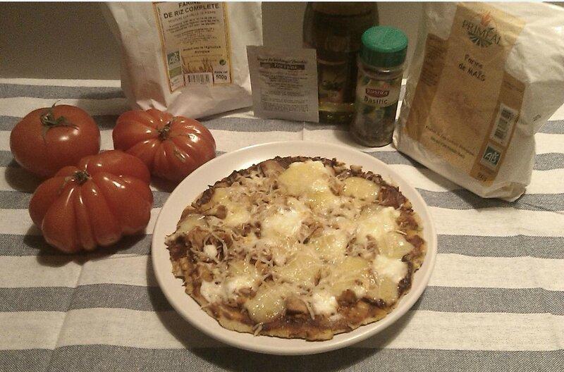 Pizzas Thon sans Gluten
