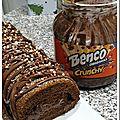 Roulé chicoré café fourré au benco® crunchy