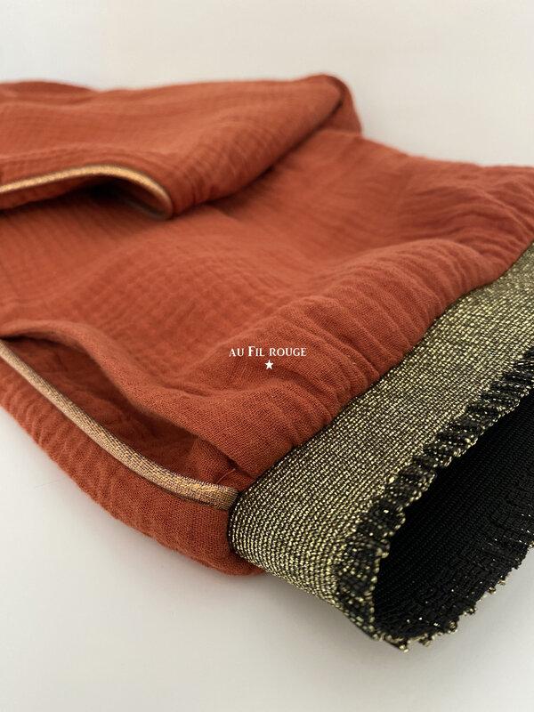 Pantalon terracotta 8