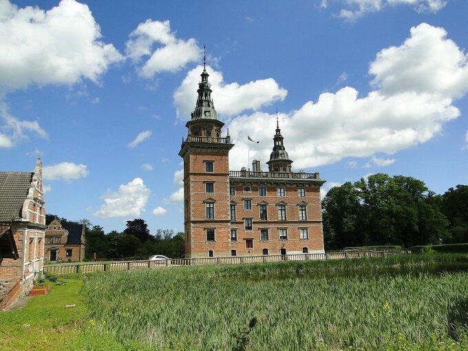 à l'ouest d'Ystad château de Marsvinsholm