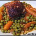 Paupiette de porc et ses petits légumes