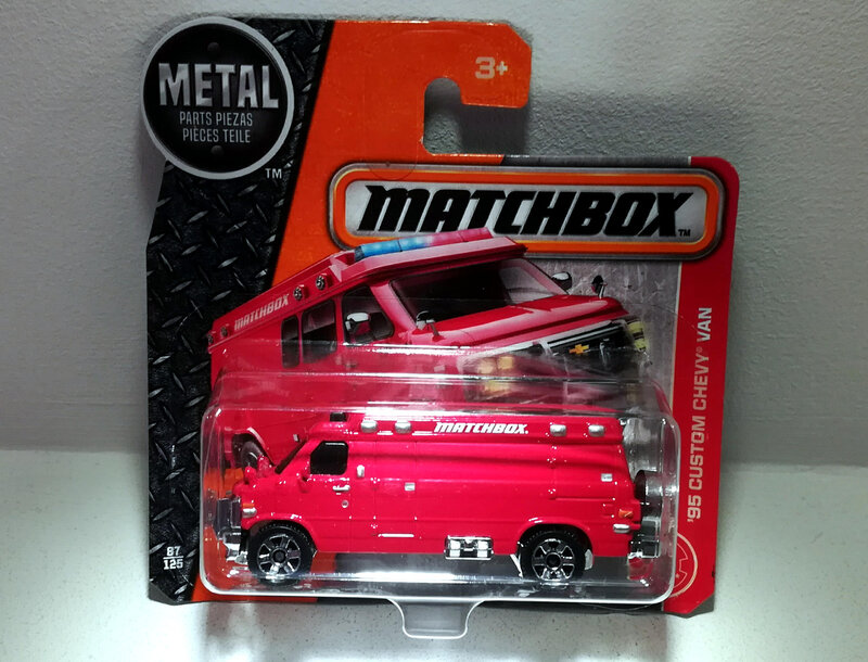 Chevrolet Chevy Van Custom de 1995 (Matchbox)