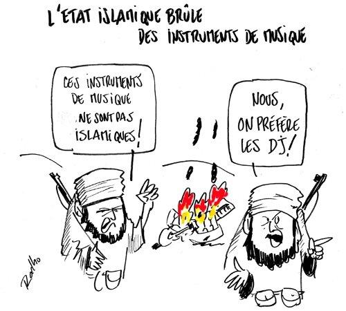 etat-islamique-dj-brule-musique