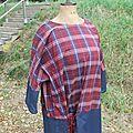 robe tunique écossaise