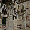 Les piliers de Saint-Jean d'Acre.