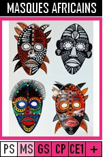 V354-MASQUES-Masques africains