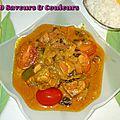 Curry de poisson (embarquez pour une destination exotique !)