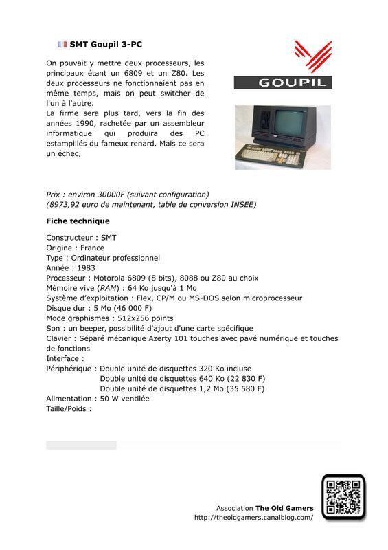 SMT Goupil 3-PC-1