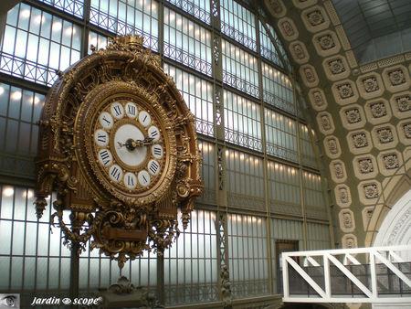 L'horloge monumentale du Musée d'Orsay