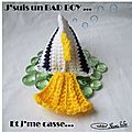Poisson Berlingot Crochet 04