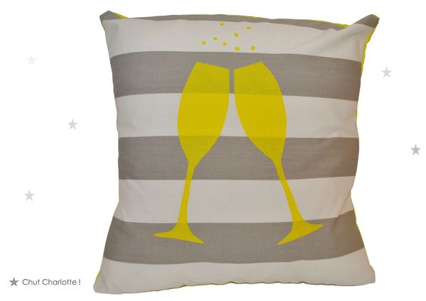 Coussin Champagne (1bis)