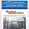 Tract cftc hypers supers ! proche des salaries -