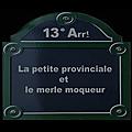 Histoire & histoires du 13e au conseil de quartier butte-aux-cailles / daviel