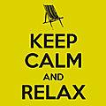 :: keep calm & relax...