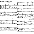 I want to hold your hand (partition - sheet music)