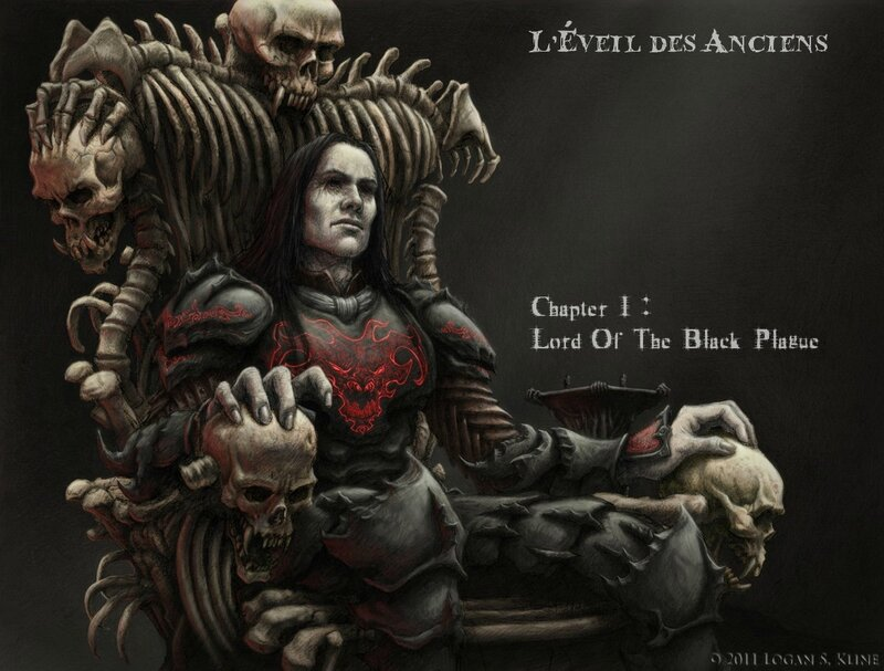 L'Éveil des Anciens - Lord Of The Black Plague 1) Cover