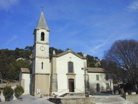 Eglise de Lamanon