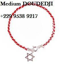 MAITRE MARABOUT Bracelet en fil rouge du Medium Marabout voyant DOUDEDJI