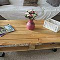 Une table basse pour 3 fois rien !