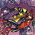 En stock ! pack astonishing spiderman & wolverine 1 à 6