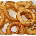 Onion rings (ou oignons frits!)