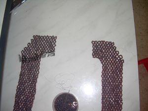 tissage col bijoux fantaisie accessoires le dos