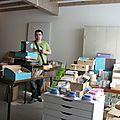 Damien et sa boutique