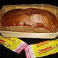 Cake aux pommes et au carambar