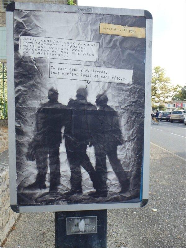 Melle affiche affairiste 072015
