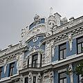 Riga et l'art nouveau (lettonie, riga, 12-13