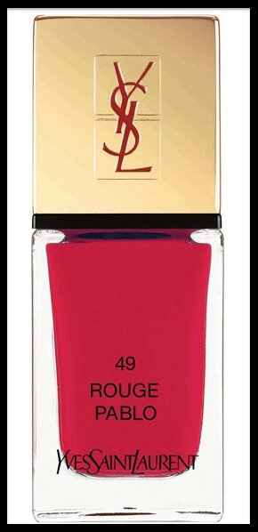 yves saint laurent vernis rouge pablo