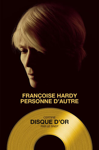 Françoise Hardy - disque d'or