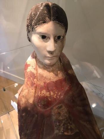 Objet du jour /Masque plastron de momie