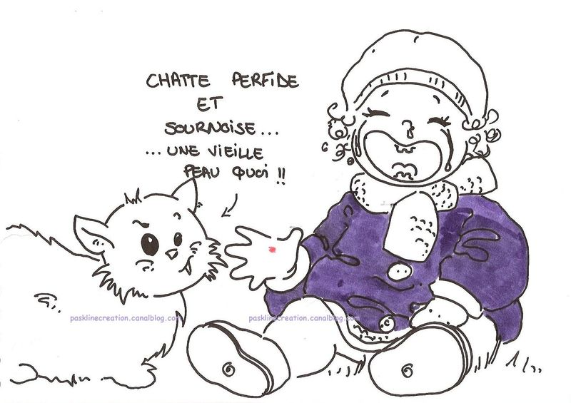 chatte sournoise