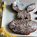 ▼▲ recette de pâques : un moelleux chocolat cacahuètes ▲▼