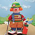 Traduction golfing clown - clown golfeur - jean greenhowe