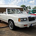 Chrysler le baron convertible-1986