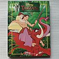 Tarzan, collection disney, éditions hachette