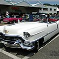 Cadillac series 62 eldorado convertible continental kit-1955