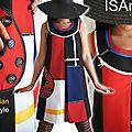 Un style sixties : un hommage à mondrian pour cette robe de saison printemps été 2013 : la tendance mode graphique !